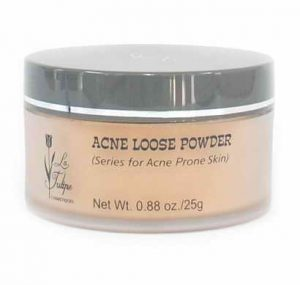 La Tulipe Acne Loose Powder Rose Mauve